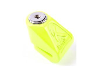 KN1 fluo grün 6mm Pin Bremsscheibenschloss