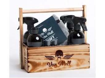 Biker-Handtasche Pflegeset-Box