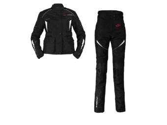 Textilkombi Omega V2 Lady Suit Jacke und Hose
