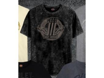 Number One Tonal T-Shirt (Dealer Sleeve Print)