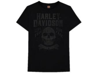 Crafted Tonal T-Shirt (Dealer Sleeve Print)