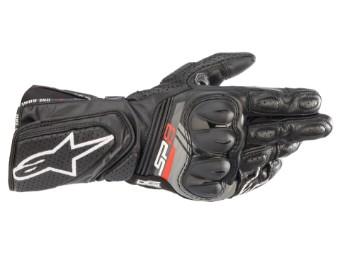 SP-8 V3 Leder Motorrad Handschuhe