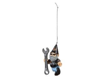 Gnome Ornament H-D Male Mechanic Mini Gartenzwerg Mann