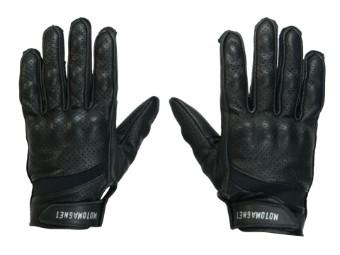 Scrambler Black Motorrad Handschuhe