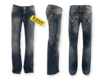Speedqueen II Jeans - Damen Aramid Hose