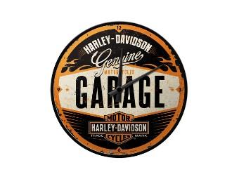 Nostalgic Garage Style Wanduhr