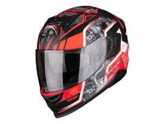 Exo 520 Air Fabio Quartararo Motorradhelm Sonnenblende