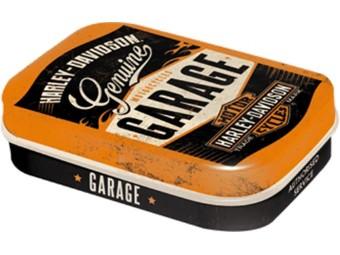 Nostalgic Garage Logo Mints Box