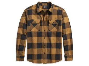 Buffalo Plaid Shirt Langarm Hemd