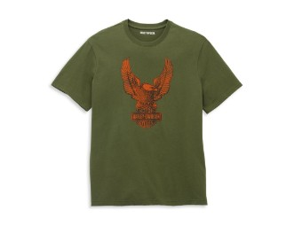 Winged Eagle Graphic Tee T-Shirt