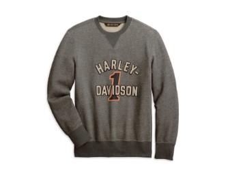 #1 Racing Pullover Sweatshirt