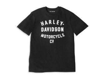 Racer Font Motorcycle Co. Graphic Tee T-Shirt