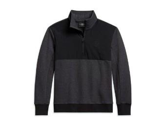 Logo Mockneck Sweater Pullover