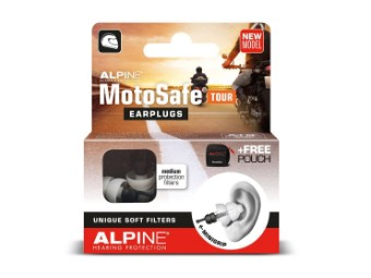 Motosafe Tour Ohrstöpsel Gehörschutz für Motorradfahrer