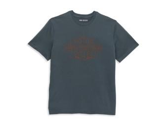 Chainstitch Bar & Shield Tee T-Shirt