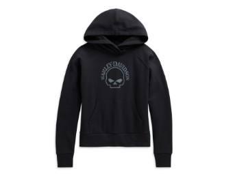 Skull Pullover Hoodie Damen Sweatshirt