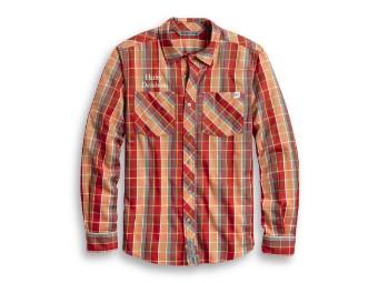 Checkered Plaid Shirt Hemd
