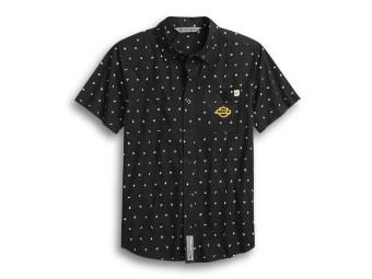 Allover Print Shirt Hemd