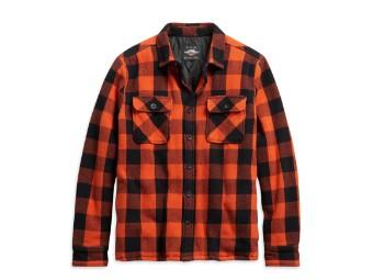 Vintage Plaid Shirt Hemd Jacke