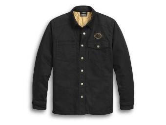 Skull Wing Shirt Jacke
