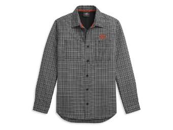 Plaid Performance Shirt langarm Hemd