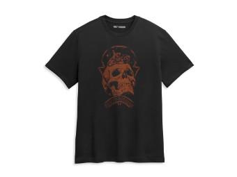 Skull Space Graphic Tee T-Shirt