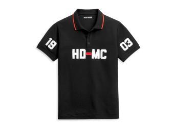 HD-MC 1903 Polo Knit Shirt Poloshirt