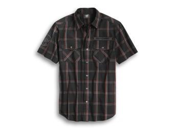 Iron &Pride Plaid Shirt kurzarm Hemd