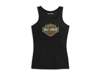 Bar & Shield Logo Damen Tank Top