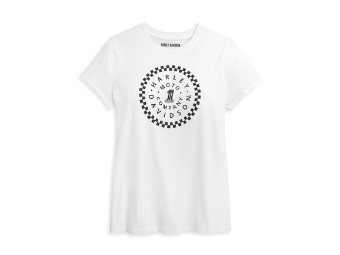 #1 Circle Graphic Tee Damen T-Shirt