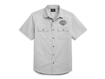 Vertical Graphic Shirt Herren Hemd