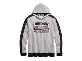 Harley-DavidsonColorblock Pullover Hoodie Sweatshirt