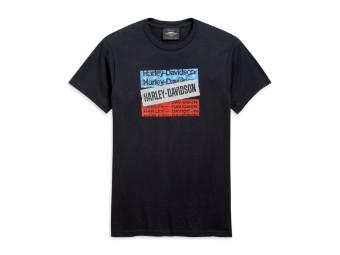 H-D Bars & Stars Tee T-Shirt