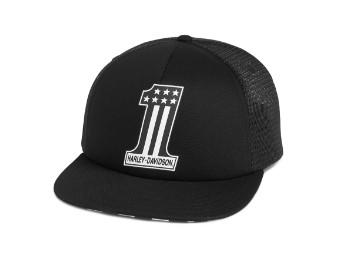 Mini Skull #1 Baseball Cap Schirmmütze