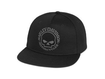 Willie G Skull Black Baseball Cap Schirmmütze