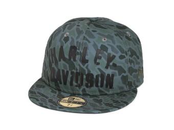 Camouflage Logo 59FIFTY Cap Schirmmütze