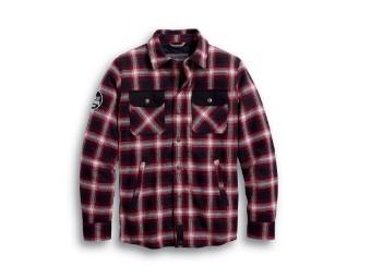 Arterial Abrasion-Resistant Riding Shirt Hemd Jacke