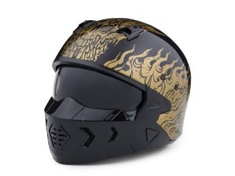 Goldusa 2-in-1 X07 Motorrad Jet Helm