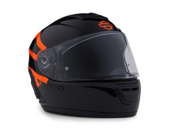 Boom! Audio N02 Full-Face Motorrad Helm