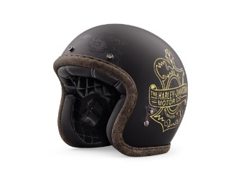 Bootlegger's Pass 3/4 Jet Helm
