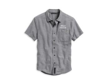 #1 Graphic Shirt Herren Hemd