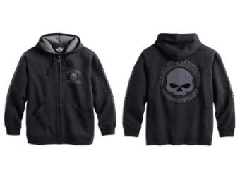 Hooded Skull Sweatshirt Herren Hoodie