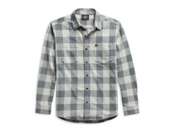 #1 Logo Plaid Shirt Hemd