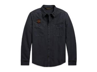 Vintage Eagle Shirt langarm Hemd