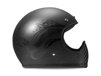 Seventyfive Koi Retro Motorradhelm