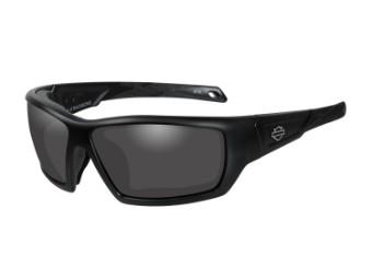 Wiley X Backbone Smoke Grey Motorrad Brille