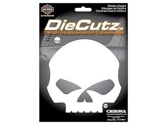 Die Cutz Willie G Skull Aufkleber