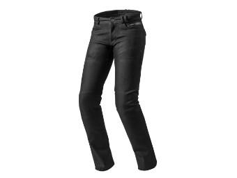 Orlando H2O Ladies Black Damen Jeans