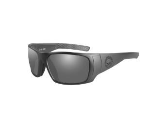 Wiley X Keys Smoke Grey Motorrad Brille