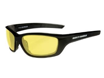 Wiley X Silencer Yellow Motorrad Brille